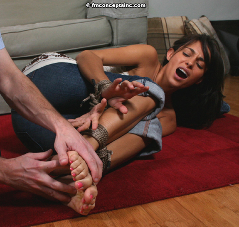 foot tickle torture